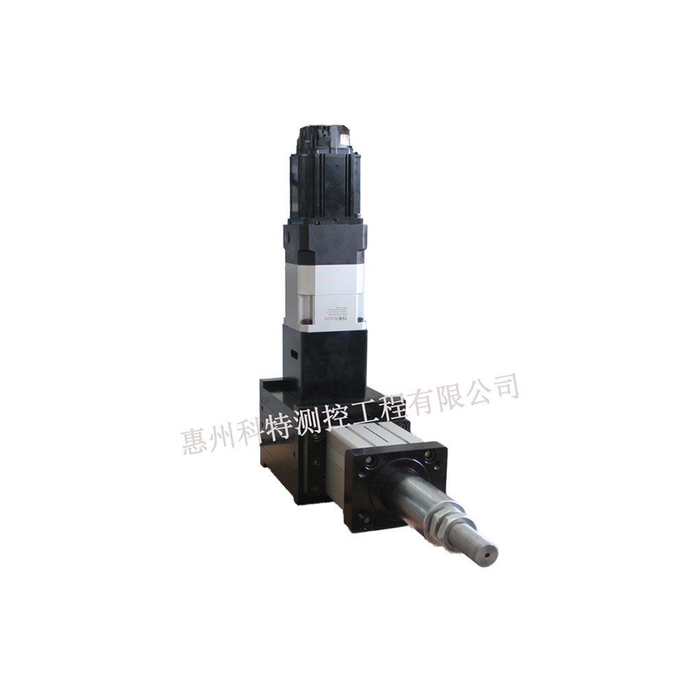 KT电动缸高频冲切缸,5HZ行程可定制。