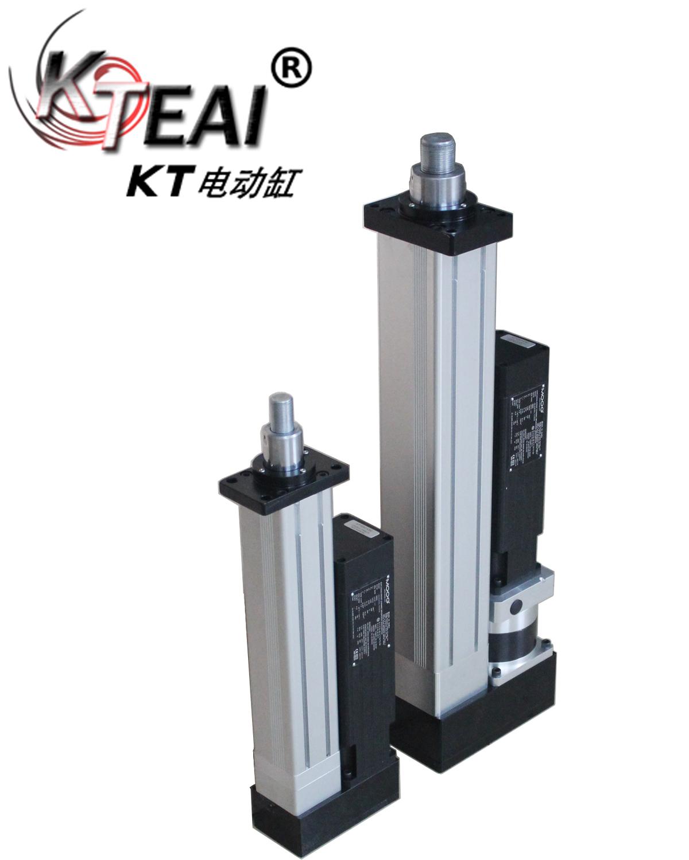KT伺服電動缸,搭配進口電機、重複定位,直線運動