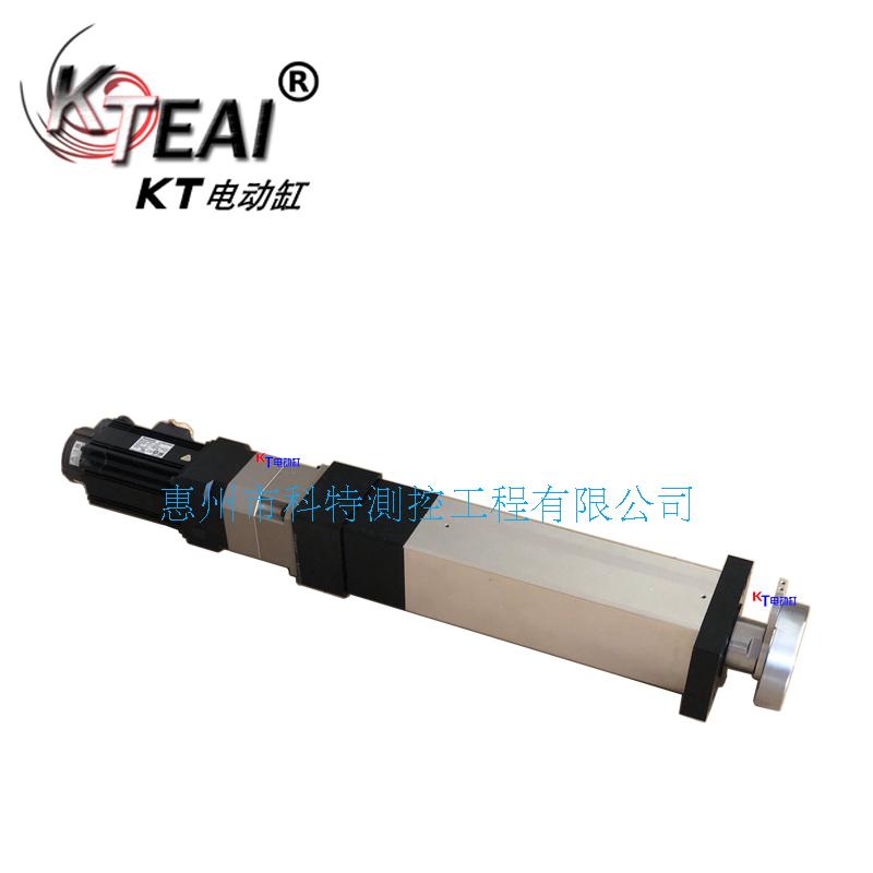 KT電動缸高頻率往複運動,電子行業裝配